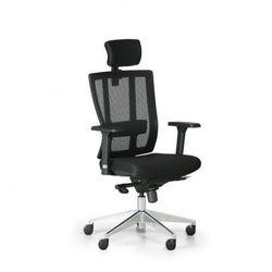 Krzesło biurowe metrim, czarny marki B2b partner