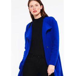 Benetton Płaszcz wełniany /Płaszcz klasyczny royal blue, w wielu rozmiarach