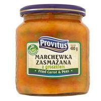 Marchewka zasmażana z groszkiem 480 g Provitus (5900580002706)