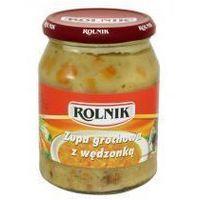 Zupa grochowa z wędzonką 650 ml Rolnik