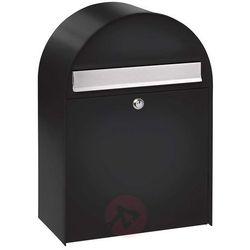 NORDIC 780 – duża skrzynka na listy, czarna (4003482367902)