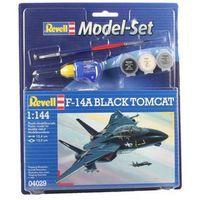 Revell  model set f-14 to mcat black - revell