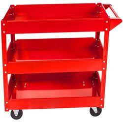 Wózek warsztatowy narzędziowy SZAFKA kółka 3 półki