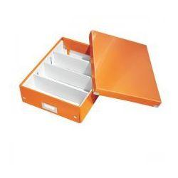 Pudło z przegródkami leitz c&s średnie pomarańczowe marki Esselte