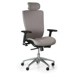 B2b partner Krzesło biurowe lester f, szary