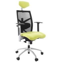 - ergonomiczny fotel biurowy mit - czarno-musztardowy marki Kokoon design