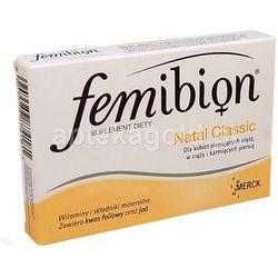 Femibion Natal Classic 60 tabletek, postać leku: tabletki