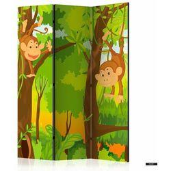 Selsey parawan 3-częściowy - dżungla - małpy (5903025214535)