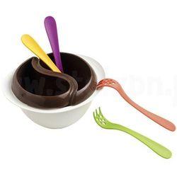 Mastrad Zestaw do czekoladowego fondue z mikrofali,
