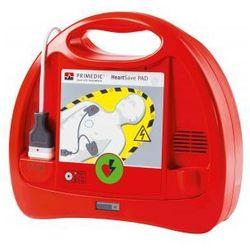 HeartSave PAD - AED + szafka z alarmem dzwiękowym i świetlnym gratis oferta ze sklepu SENDPOL24.pl