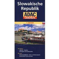 Slowakische Republik. ADAC LanderKarte 1:300 000, oprawa broszurowa