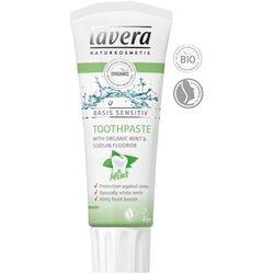 Pasta do Zębów Miętowa Basis Sensitiv z Fluorem 75ml Lavera z kategorii Pasty do zębów