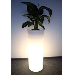 Donica podświetlana LED HEBE 89 cm
