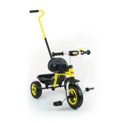 Milly Mally TURBO rowerek 3-kołowy yellow - sprawdź w wybranym sklepie