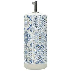 Dekoria butelka na oliwę casa decor blue 500ml, 7,7 × 7,7 × 22 cm