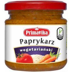 Paprykarz wegetariański 170g PRIMAVIKA, towar z kategorii: Przetwory warzywne i owocowe