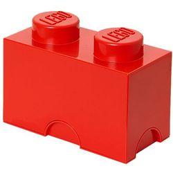 POJEMNIK LEGO 2 CZERWONY - LEGO POJEMNIKI, 0249