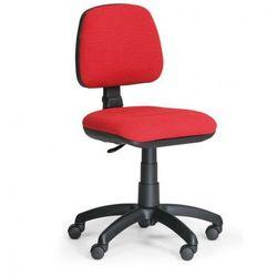 Biurowe krzesło milano bez podłokietników - czerwone marki B2b partner