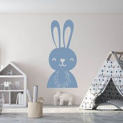 Wally - piękno dekoracji Szablon do malowania dla dzieci zajączek 2491
