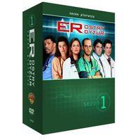 Ostry dyżur, sezon 1 (4xDVD) - Michael Crichton (7321909333468)
