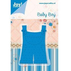 Creativehobby Ozdobny wykrojnik baby boy - ogrodniczki - 0208