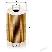 Filtr oleju HU 7008Z / OE 688 / MANN z kategorii filtry oleju