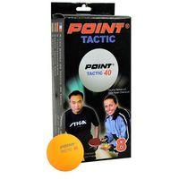 Piłeczki do tenisa stołowego Point Tactic 8szt. Stiga (6928751867960)