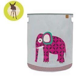 Lassig Casual Label - Pojemnik kosz na zabawki Wildlife Słoń