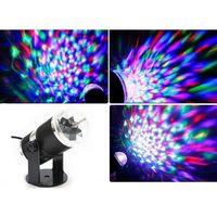 Projektor obrotowy kula dyskotekowa LED RGB
