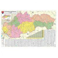 Mapa administracyjna Słowacji