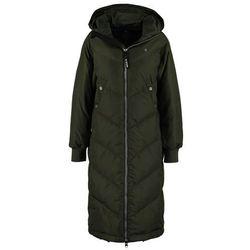 GStar ALASKA DOWN HDD BF LONG JKT Płaszcz puchowy asfalt, rozmiar od 34 do 42, zielony