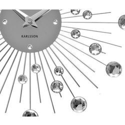 Zegar ścienny sunburst marki Karlsson