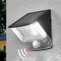 Brennenstuhl Lampa solarna LED z czujnikiem ruchu na ścianę, czarna (4007123611812)