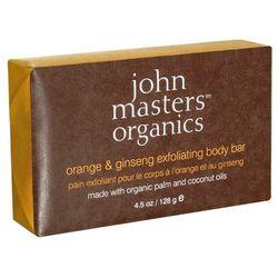 orange & ginseng body bar - mydło złuszczające z pomarańczą i żeń szeniem 128g od producenta John maste