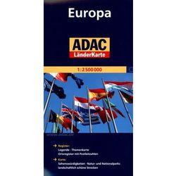 Europa. ADAC LanderKarte 1:2 500 000, pozycja wydana w roku: 2011