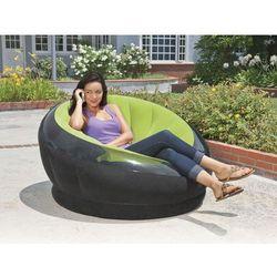 Fotel dmuchany zielony 112 x 109 x 69 cm 68582 marki Intex