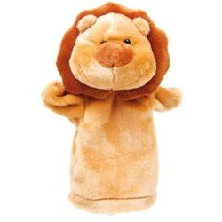 Pacynka na dłoń - lew, żyrafa,małpka,słonik - sprawdź w www.epinokio.pl