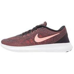 Nike Performance FREE RUN Obuwie do biegania neutralne black/lava glow/offwhite z kategorii obuwie do biegania