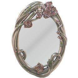 Śliczne lustro z różami (an10499a4) marki Veronese