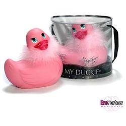 Kaczuszka do kąpiel - Duckie Paris Pink
