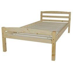 Kidsaw łóżko sosnowe pojedyncze Levi