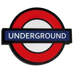 Arlet Underground Dziecięca Aldex 821S1 43cm czerwony-czarny (5904798636593)