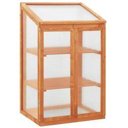 Vidaxl szklarnia, 60x45x100 cm, drewno jodłowe