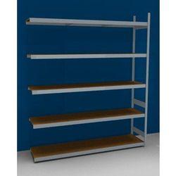 Regał wtykowy o dużej pojemności z półkami z płyty wiórowej, wys. 3000 mm, szer.