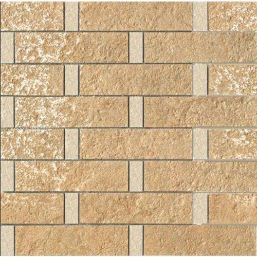 PALACE STONE Mosaici Listoni Su Rete Beige/Almond 39,4x39,4 (G-55) (glazura i terakota)