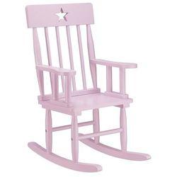 Krzesełko KIDS CONCEPT 700463 Bujane z Gwiazdką Różowy