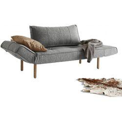 INNOVATION iStyle Sofa Zeal szara 565 nogi jasne drewno Stem - 740021565-2-740021-11-1 - produkt z kategorii- Sofy