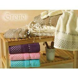 Ręcznik 50x90 amarante - mikrobawełna marki Greno
