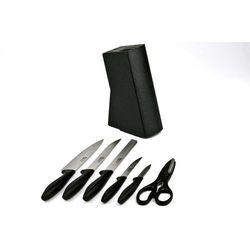 Noże w bloku - komplet 6-cz. Cuisine Laser