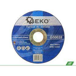 Tarcza do metalu Geko 115x1.0x22 G00028 - sprawdź w wybranym sklepie